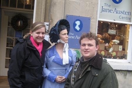 Virginia Claire and Buck Tharrington, Bath, England (2008)