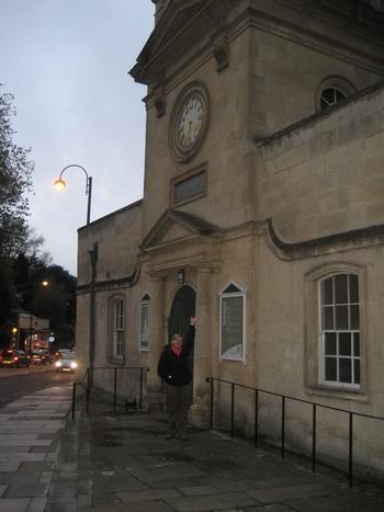 Virginia at St. Swithin's Church, Bath (2008)