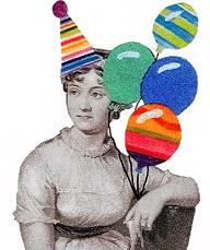 Jane Austen party girl