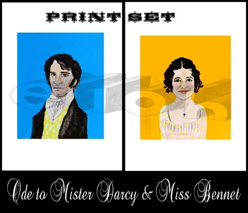 Ode to Mister Darcy and Miss Bennet, Ellen Lohse (2008)