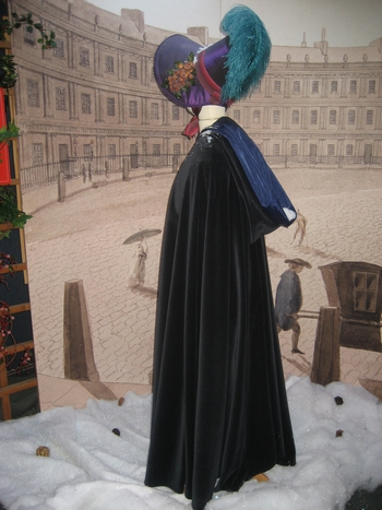 Christmas exhibit at the Jane Austen Centre (2008)