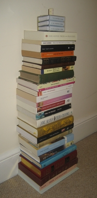 Virginia's collection of Pride and Prejudice editions