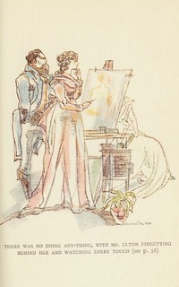 Illustration from Emma by Maximilien Vox (1934)
