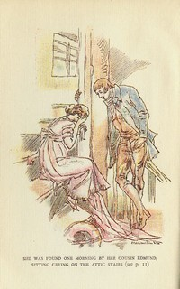 Illustration from Mansfield Park by Maximilien Vox (1934)