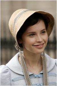 Felicity Jones as Catherine Morland, Northanger Abbey (2007)