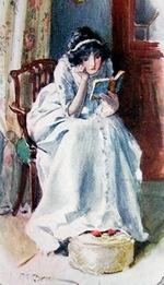 Illustration by C.E. Brock, Northanger Abbey, J.M. Dent & Sons, London (1908)