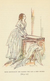 Illustration from Northanger Abbey, by Maximilien Vox (1934)