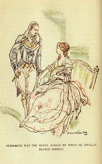 Illustration from Pride and Prejudice by Maximilien Vox (1933)