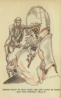 Illustration from Sense and Sensibility by Maximilien Vox (1933)