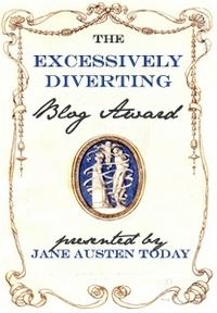 Excessively Diverting Blog Award