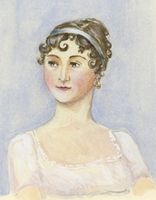 Portrait of Jane Austen by Jane Odiwe (2008)
