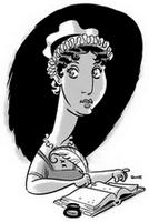 Portrait of Jane Austen by J. Bone, circa (2007)