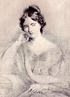 Portrait of Jane Austen by Lily Harmon (1945)