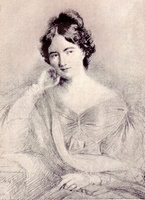 Portrait of Jane Austen by Lily Harmon (1945)