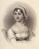Lizzars portrait of Jane Austen (1870)