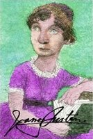 Portrait of Jane Austen by Mike Caplanis circa (2007)