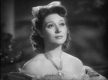 Grear Garson as Elizabeth Bennet, Pride and Prejudice (1940)