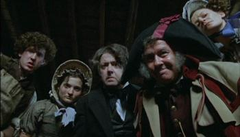 Scene at Mr. Sowerberry's in Oliver Twist (2007)