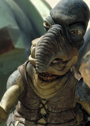Watto the junk dealer from Star Wars the Phantom Menace