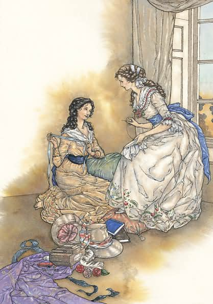 Illustration by Niroot Puttapipat, Pride and Prejudice, The Folio Society (2006)