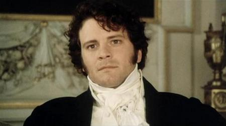 Colin Firth as Mr. Darcy, Pride and Prejudice (1995)