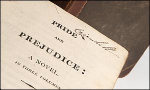 Pride and Prejudice first edition (1813)