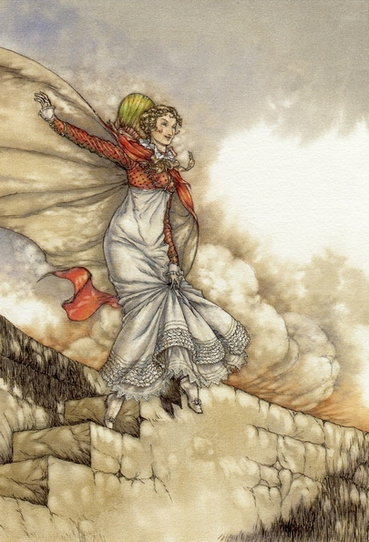 Illustration by Niroot Puttapipat, Persuasion, The Folio Society (2007)
