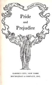 Tile page of Pride and Prejudice, Doubleday (1940)