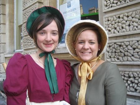 Virginia Claire and friend, the Jane Austen Festival (2008)