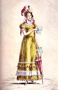 Illustration of Elizabeth Bennet, by Robert Ball (1945)