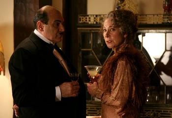 David Suchet and Zoe Wannamaker in Mrs. McGintys Dead (2009)