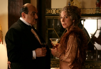 David Suchet and Zoe Wannamaker in Mrs. McGintys Dead (2009)