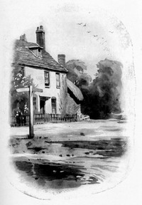 Illustration of Chawton Cottage, by Ellen G. Hill (1923)