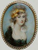 Miniature portrait of Lady Susan Carberry (c1795)