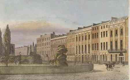 Portman Square, London ca 1813