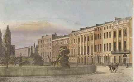 Portman Square, London ca 1813