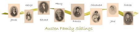 Jane Austen siblings banner