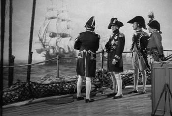 Nelson at Trafalgar 1805