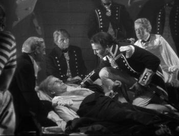 Nelson's death at Trafalgar 1805, That Hamilton Woman