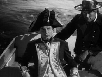 Laurence Olivier as Lord Nelson in That Hamilton Woman (1941)
