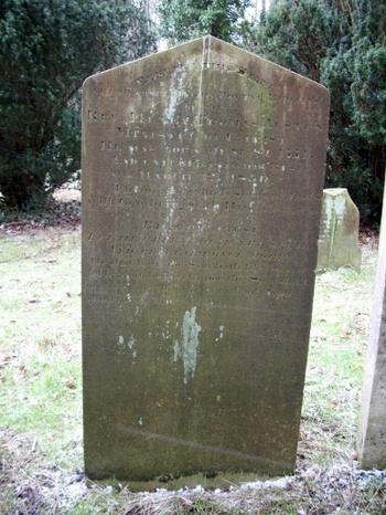 Gravestone of Rev. Henry Thomas Austen (1771-1850)