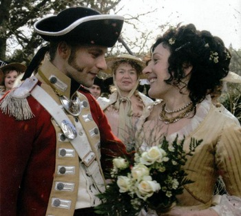 Henry and Eliza's wedding (Becoming Jane 2007)