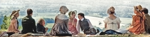Image from Emma 2009: Boxhill scene © BBC 2009 for MASTERPIECE
