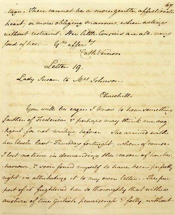 of jane austens letters