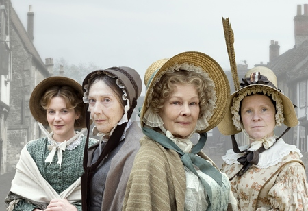 Image from Cranford: Judi Dench as Miss Matty © BBC Worldwide 2007 for MASTERPIECE