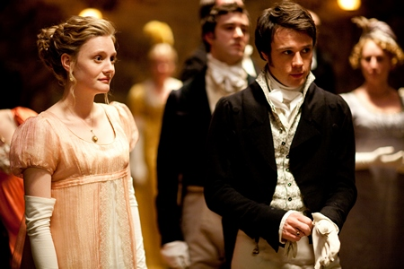 Image from Emma 2009: Emma and Frank at The Crown Inn dance © BBC 2009 for MASTERPIECE
