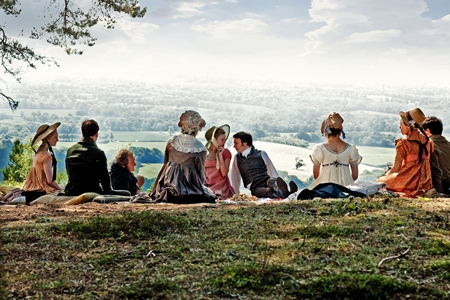 Image from Emma Episode 3: Box Hill picnic x 450 © BBC 2009 for MASTERPIECE