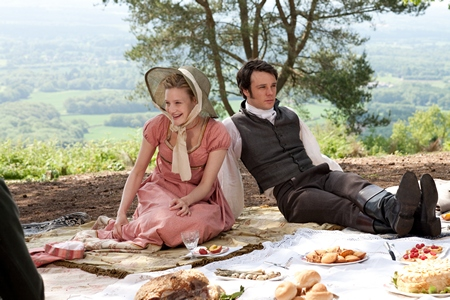 Image from Emma 2009: Emma and Frank © BBC 2009 for MASTERPIECE