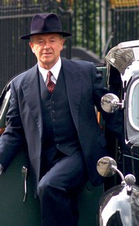 Image from Foyle's War: The Hide: Michael Kitchen as Inspector Foyle © 2010 MASTERPIECE