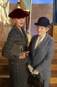 Image from Miss Marple: The Mirror Crack'd: Joanna Lumley and Julia McKenzie © 2010 MASTERPIECE